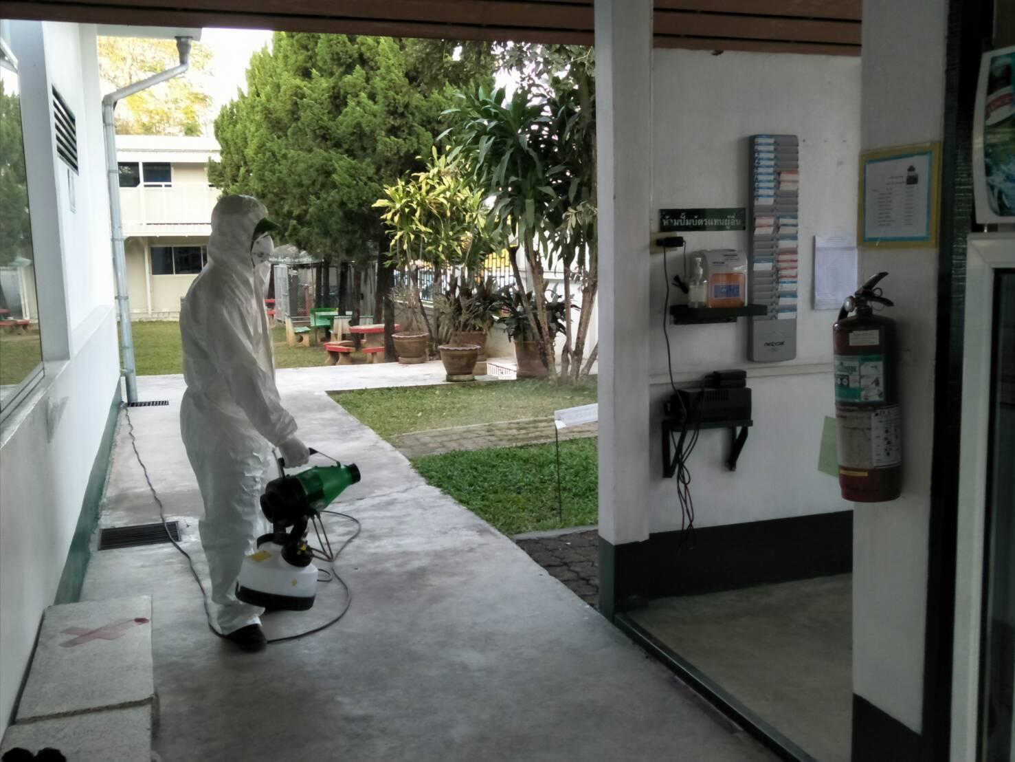 โรงงานหลวงฯ ที่ 2 (แม่จัน) จ.เชียงราย ดำเนินมาตรการป้องกันและติดตามเฝ้าระวังการแพร่ระบาดของเชื้อไวรัสโคโรนา 2019 (โควิด-19)