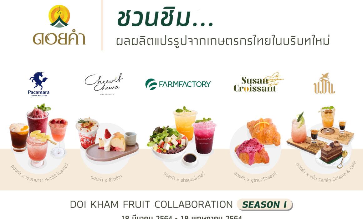 ชวนชิม ผลผลิตแปรรูปจากเกษตรกรไทยในบริบทใหม่