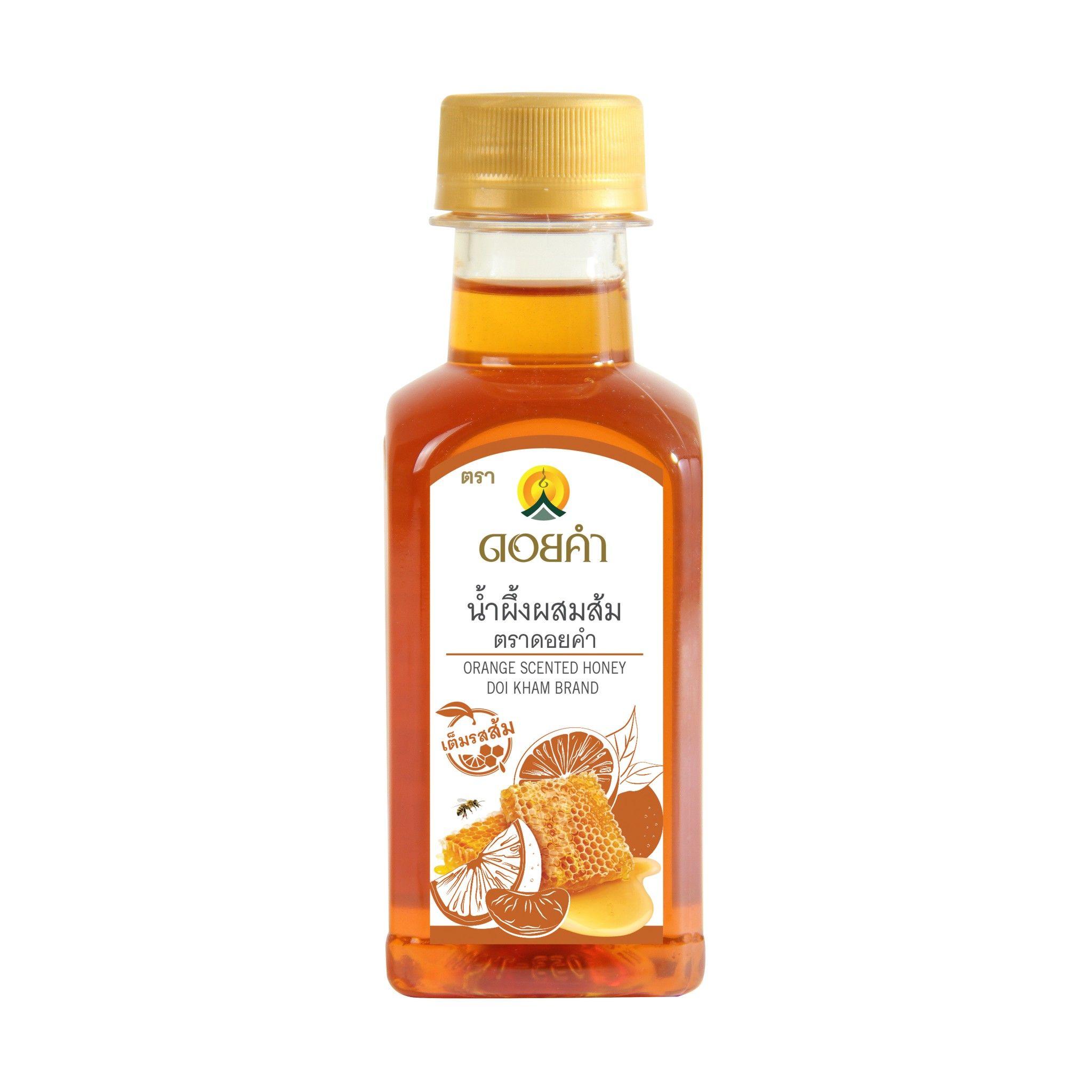 MockUp น้ำผึ้งส้ม
